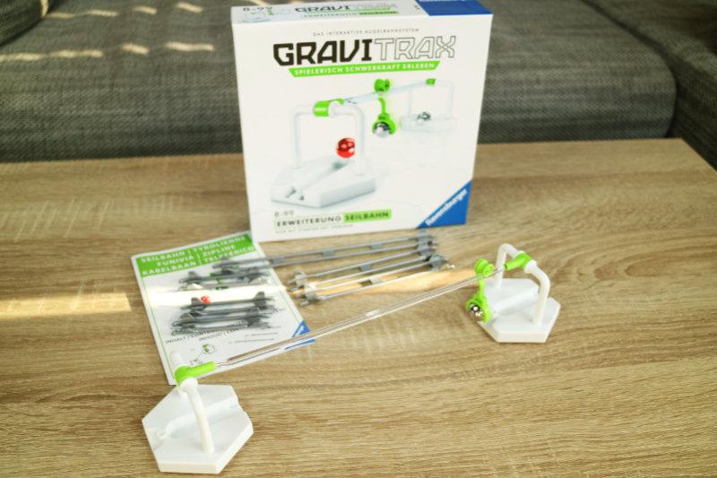 Lieferumfang der GraviTrax Seilbahn