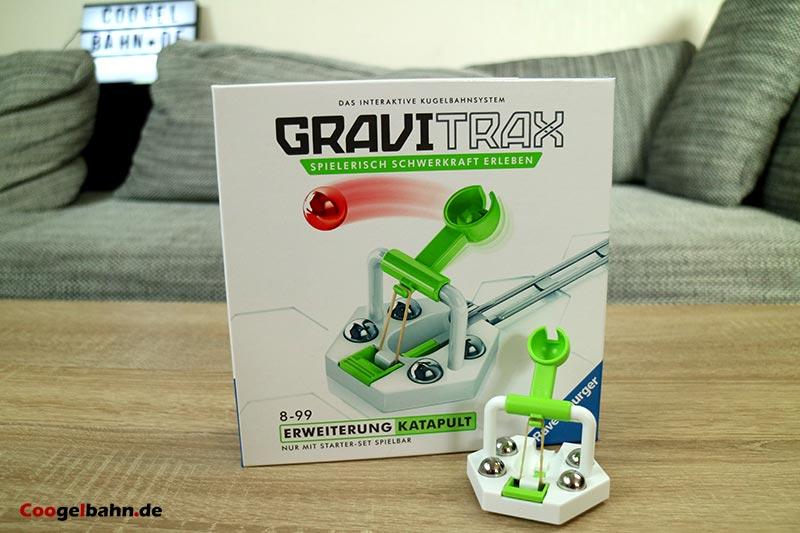 GraviTrax Katapult: Der Karton und der Inhalt
